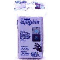 Esponjabon Lavanda Lavender Relaxing T.Taio Soap