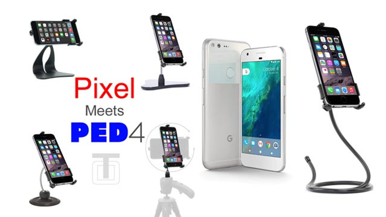 Pixel Phone Tripod Mount, Holder, Car Mount, & Stands