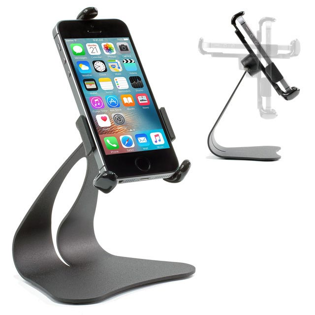 iPhone Stand Model CH50 shown with iPhone SE