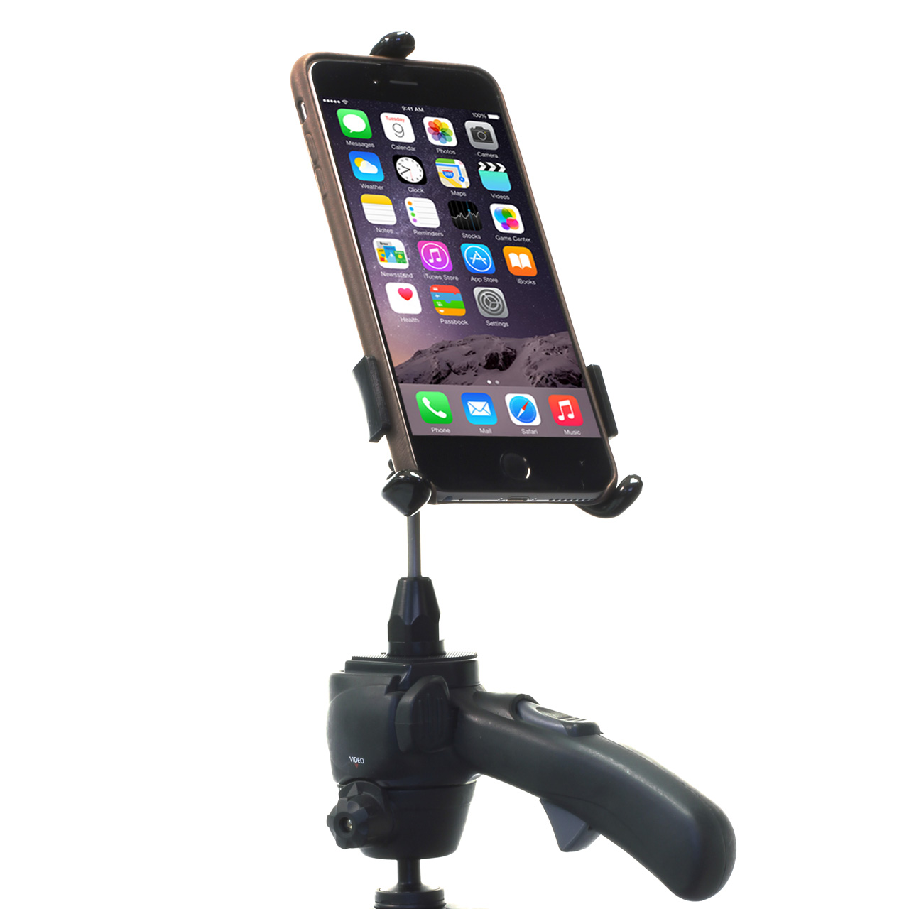 iPhone Tripod Mount with a Case PED4-CH