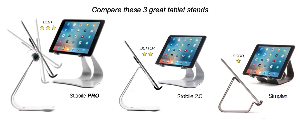 Compare the best iPad Stands