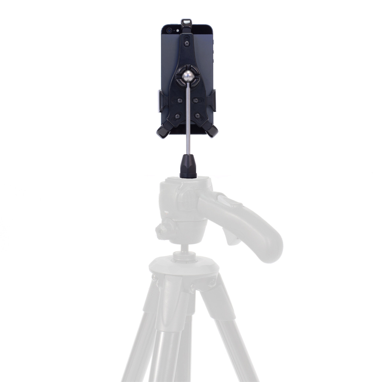 Mount your iPhone on your tripod