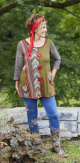 Both Sides Now Tunic (Olive)