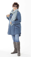 Cosette Coat (Blue)