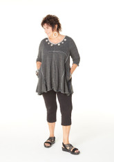 Haiku Tunic (Dark Grey)