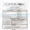 Ring Set Single Cylinder - SA3610-SC P15
