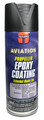 Flat Black Epoxy Propeller Paint - 12 Oz. Aerosol Spray Can - A150