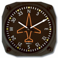 Directional Gyro Wall Clock - 9062
