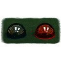 Whelen Green position light lens - W1284G