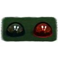 Whelen Red position light lens - W1284R