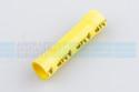 Yellow Butt Splice 12-10 GA (10) per pack - 34072