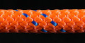 Orange/Blue Slidedown Tie Down Ropes 7/16 - 33701