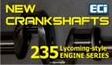 Crankshaft Assy, 3.875 Stroke, O-235 Series - AEL23501-1