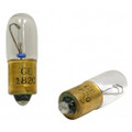Miniature Incandescent Bulb, 28 Volt, 0.10 Amps - 1820