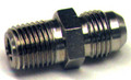 Nipple, Flared Tube and Pipe Thread, O.D. 1/2, Thread Size 3/8 - AN816-8D