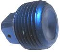 Plug, Square Head, Pipe Thread,  Aluminum, Thread Size 1/8 - AN913-1D
