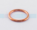 "Copper Gasket (Crush Washer), ID 7/8"", OD 1-1/8"" (AN900-14) (5 per pack) - MS35769-18"