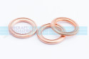 """Copper Gasket (Crush Washer), ID 1-7/16"""", (AN900-7) (5 per pack)"""