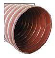 "Aeroduct, Red 2-1/2"" diameter (sold by the foot, 11ft maximum) - SCAT-10"