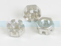 Nut - .250-20 Slotted - STD-2249, Sold Each
