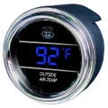 Auto thermometer gauge for trucks and cars in Blue