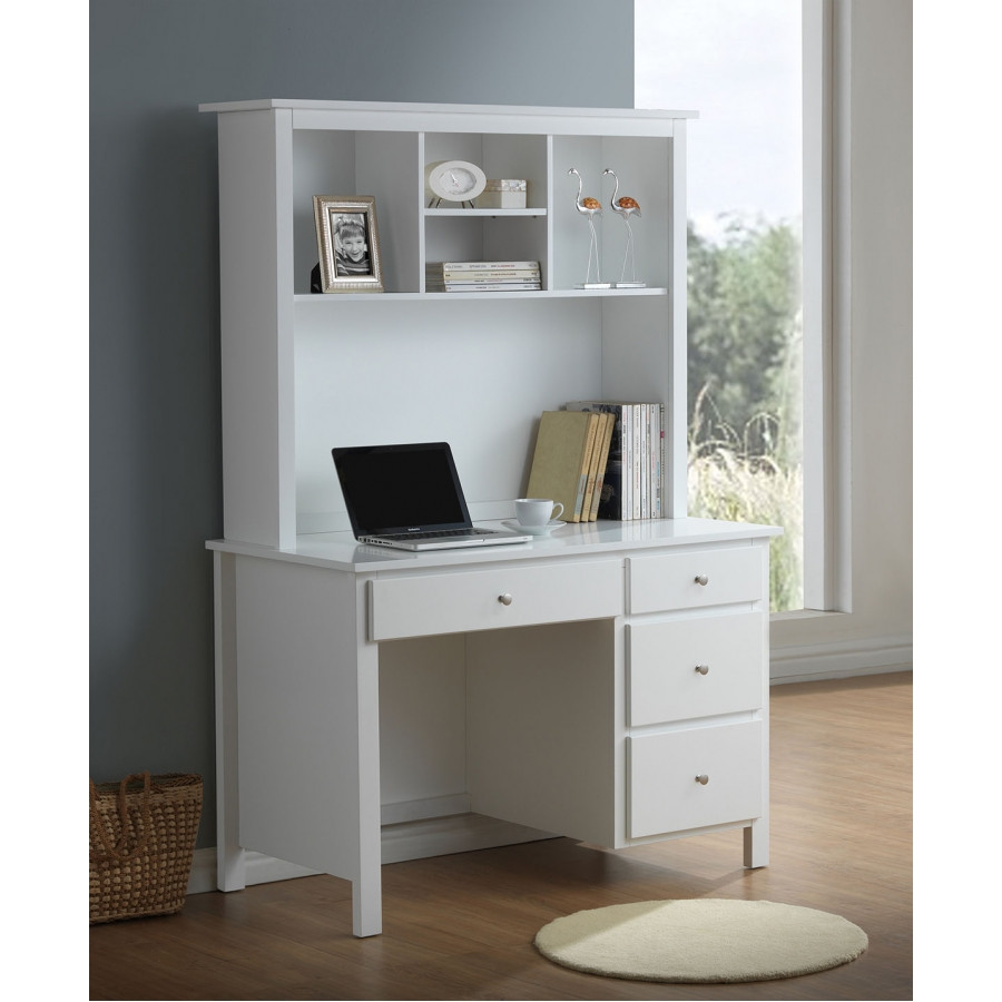 8 Of The Best Online Furniture Store In Australia: EMPRESS DESK WITH HUTCH (2-18-15-4-9-5)