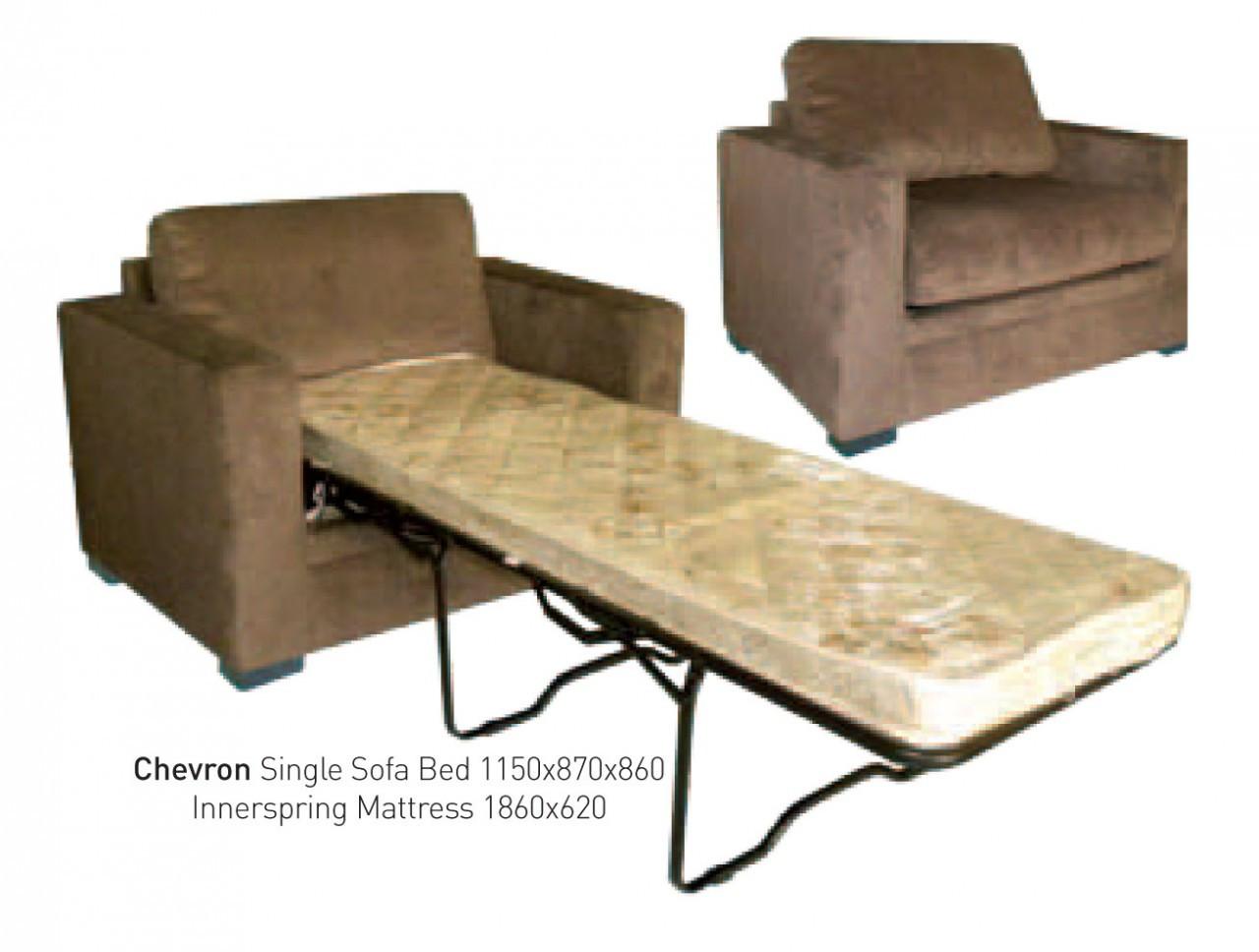 Space Saving Bunk Bed Chevron Newton Loose Back Single Sofa Bed Shona
