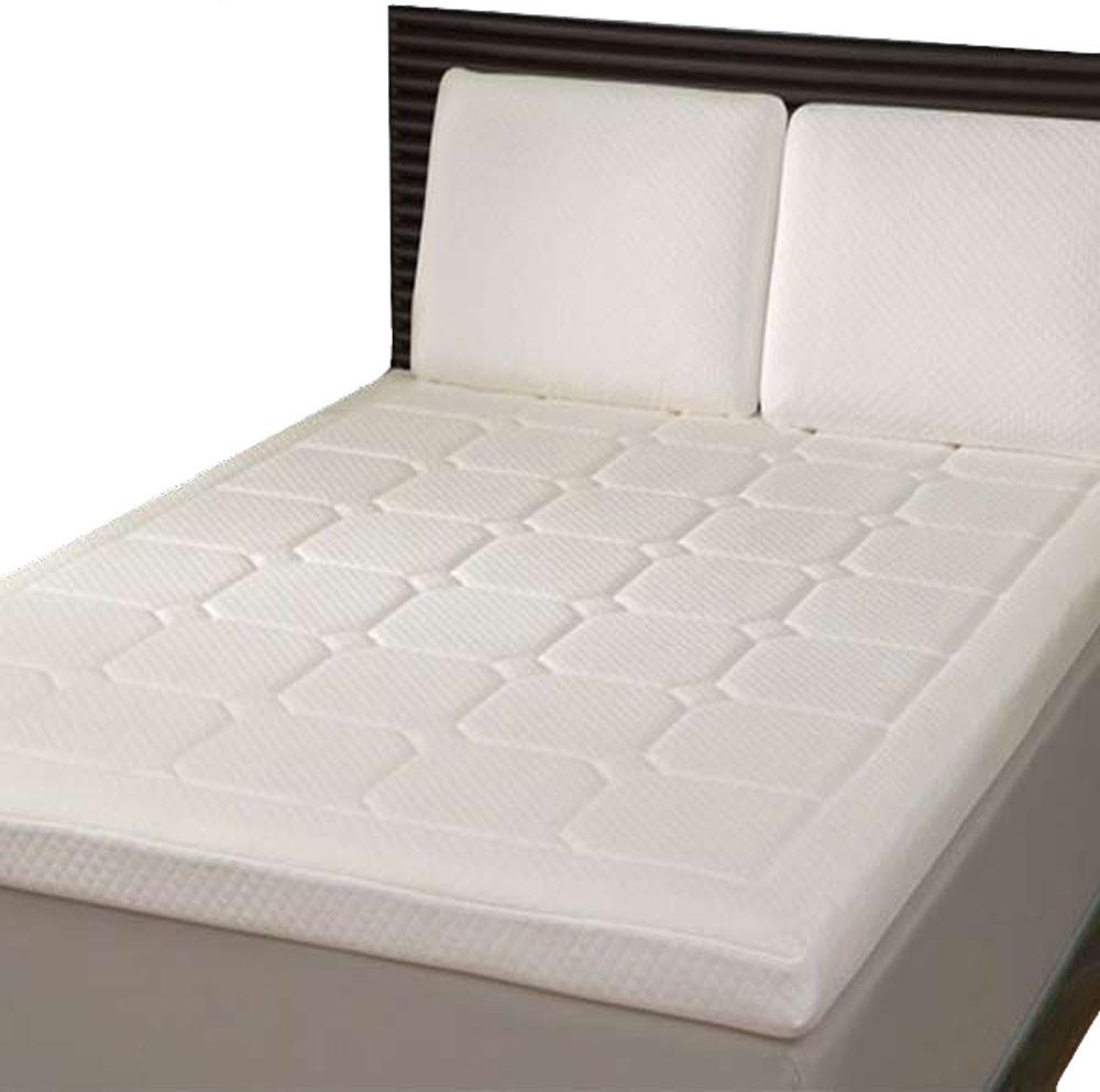 King Grand Luxury Quilted Memory Foam Mattress Topper Mtq