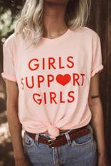 girls support girls tee