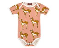 pink deer onesie