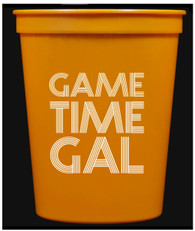 Game Time Gal Cups