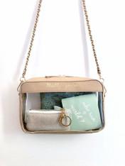 clear purse
