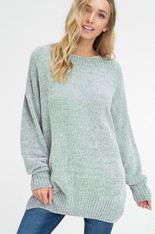 Sage Chenille Sweater