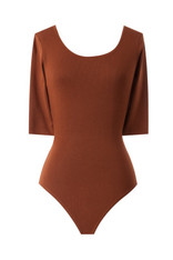 burnt orange bodysuit