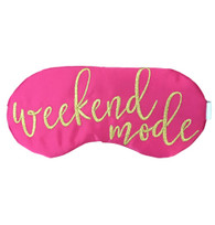 Weekend Mode Sleep Mask