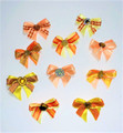 Shades of Orange/Peach Bows - 50 Pack