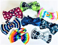 Bow Ties - assorted prints - pack of 10