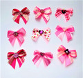 Shades of Pink Bows - 50 Pack