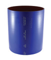 """4"""" Blue Silicone Wet Marine Exhaust Straight Hose per Foot"""