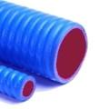 "01.75"" Blue Silicone Corrugated Hose per Foot"