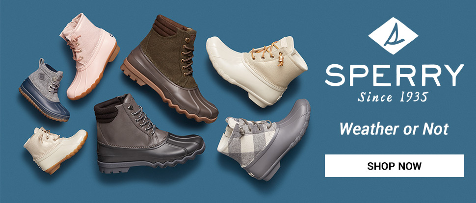 Sperry - Weather or Not - Shop Now