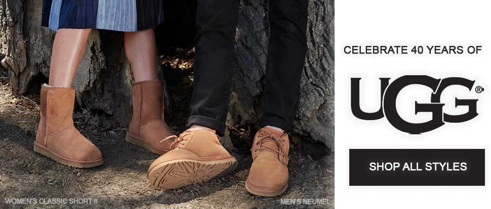 Celebrate 40 years of UGG. Shop all styles.