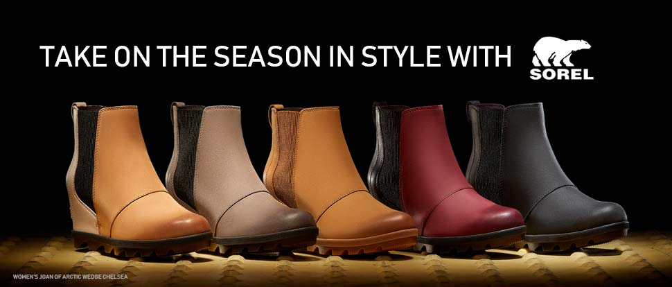 Take on the season in style with Sorel.
