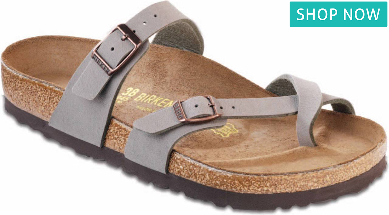 60a1f30839ad Birkenstock Women s Mayari in Black Oiled Leather Birkenstock Women s  Mayari in Stone Birkibuc