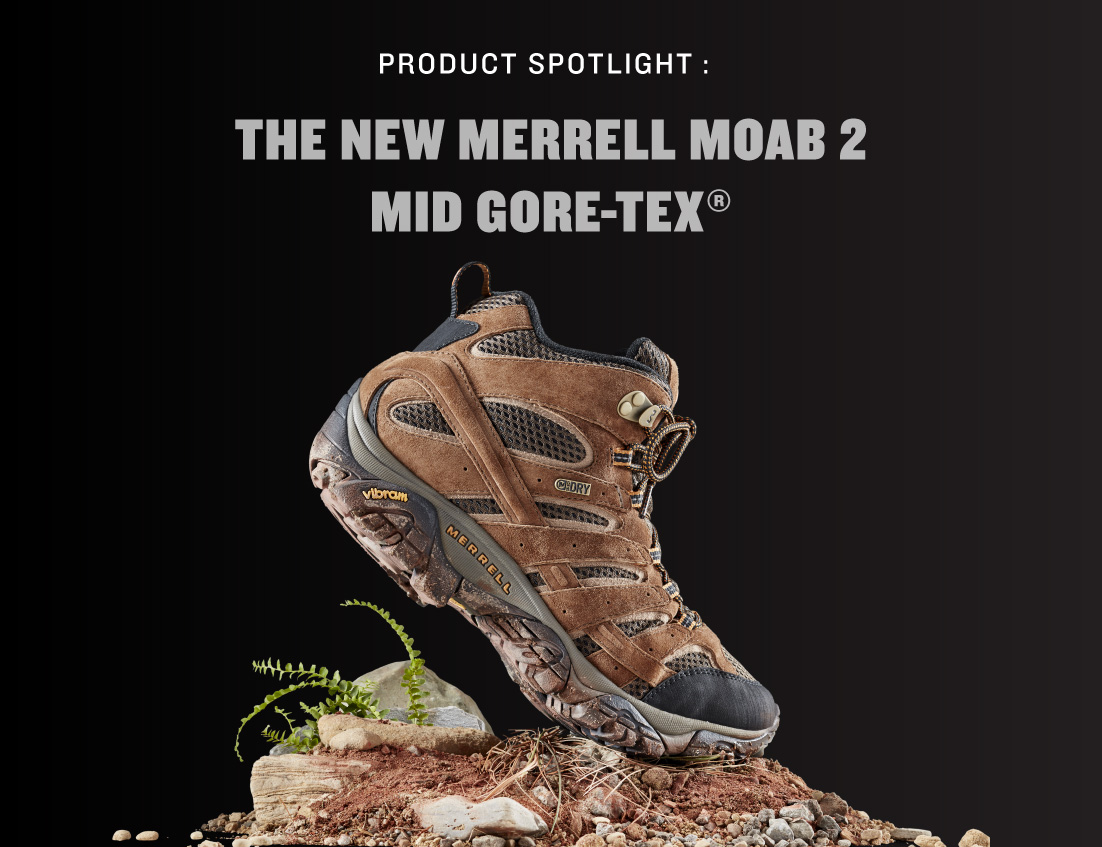 285e74e23eb6 Product Spotlight  The New Merrell Moab 2 Mid GORE-TEX® - Englin s Fine  Footwear