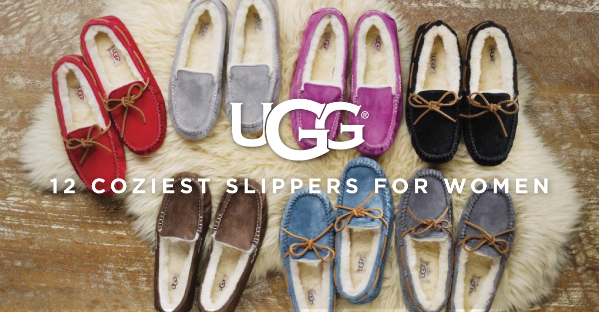 8708e2bb2fb 12 Coziest UGG Slippers for Women - Englin's Fine Footwear