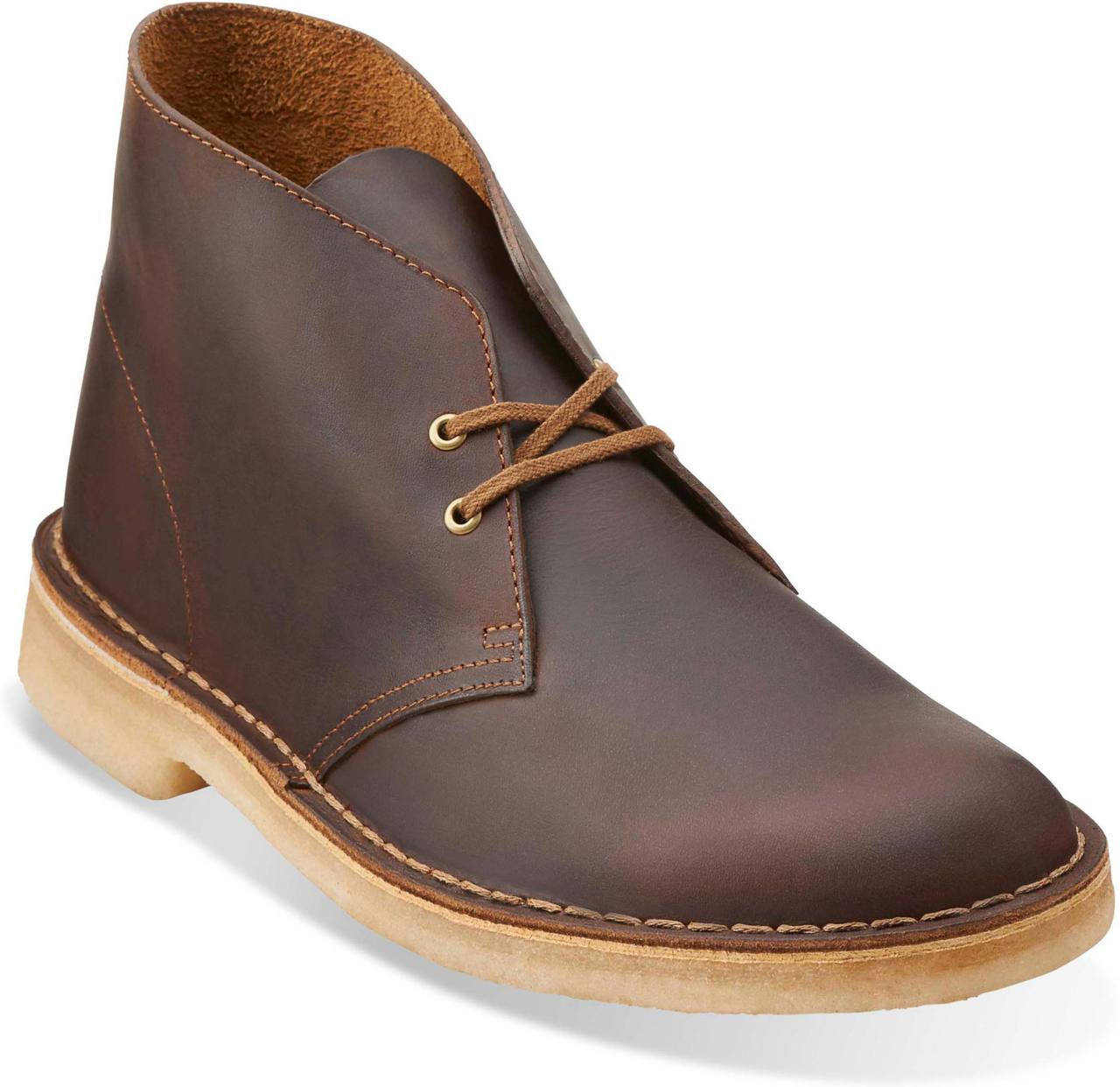 Clarks Men's Desert Boot in Beeswax Leather