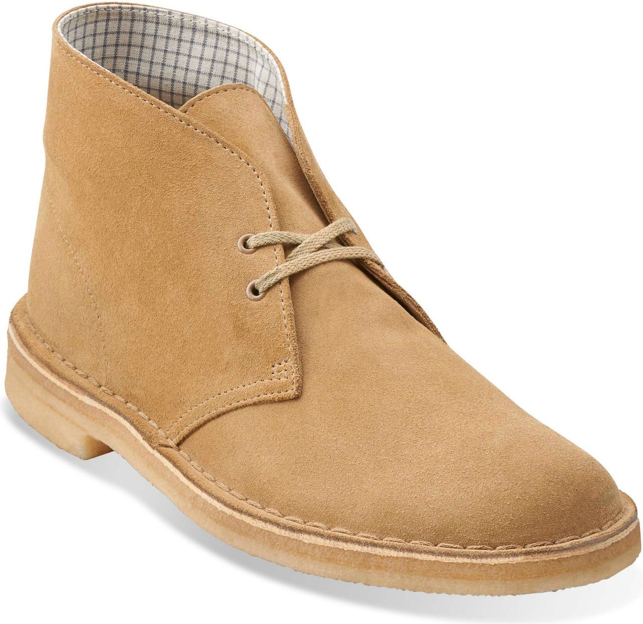 Clarks Mens Desert Boot in Oakwood Suede