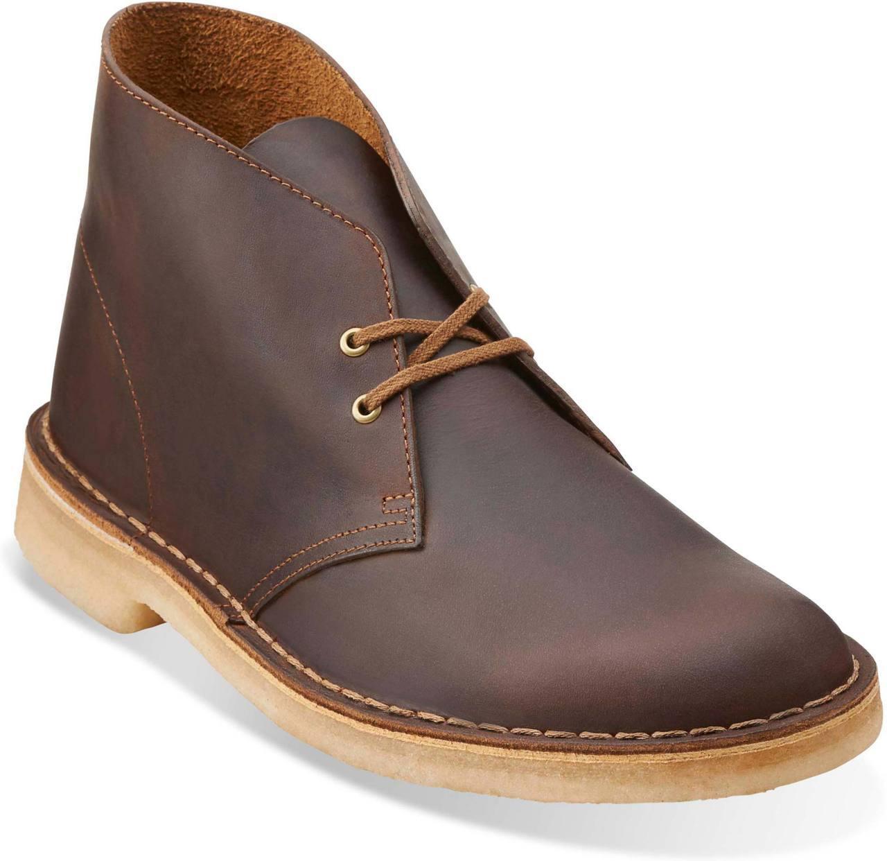 Clarks Men's Desert Boot in Beeswax Leather