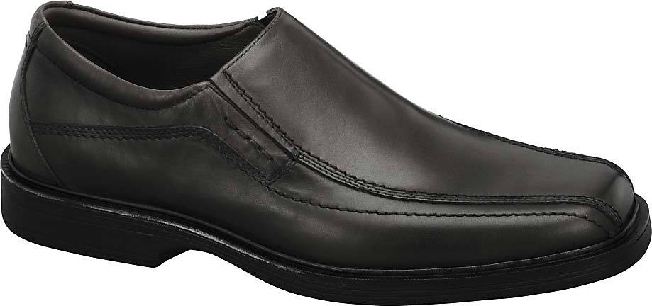 Johnston & Murphy Penn Slip-On in Black Full Grain